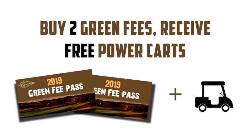 2 Green Fees 2019