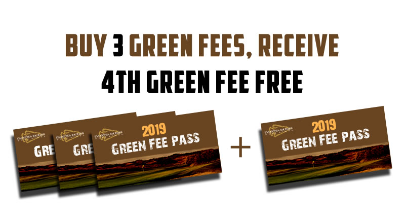 4th green fee free 2019