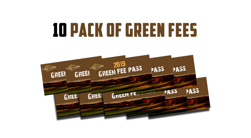 10 Pack Green Fees