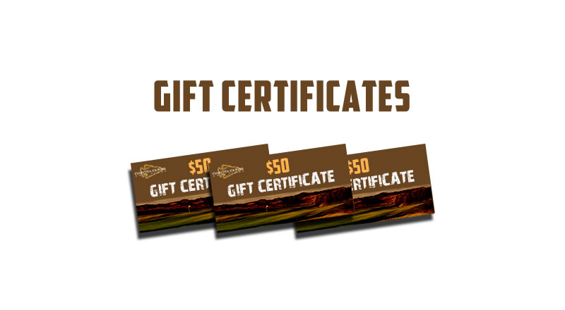 Dakota Dunes Gift Certificates