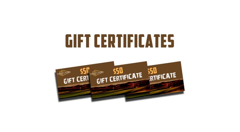 Dakota Dunes Gift Certificates